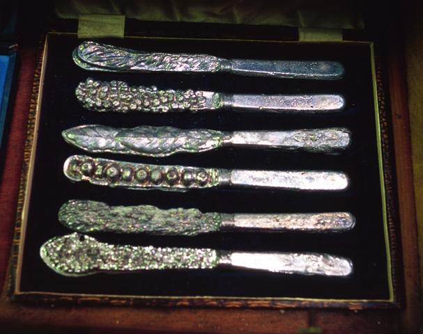 Darwin's Butter Knives, 2001