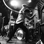 Photo from Gallery Website: The Who, 1969. Gustav Metzger is the man who inspired Pete Townshend to smash his guitars.